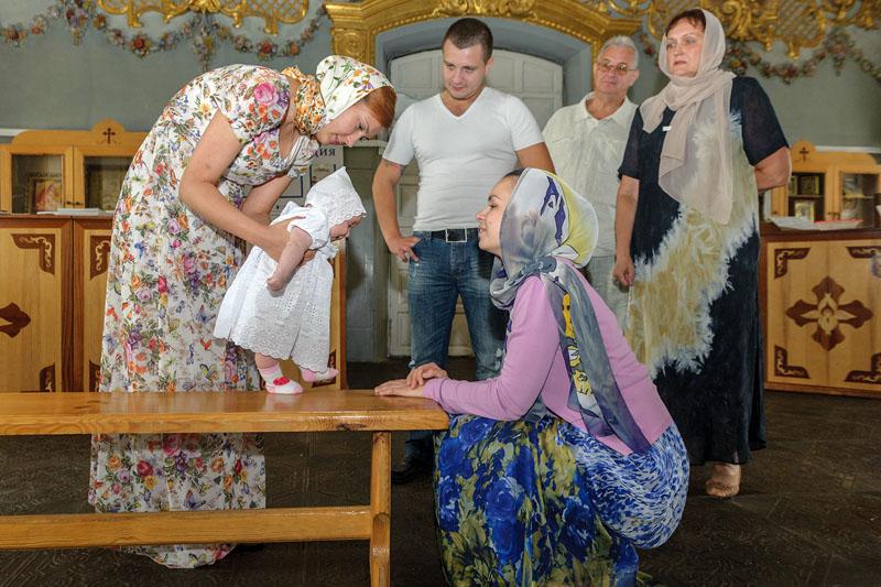 Фотосъемка крестин в Бронницах и Жуковском